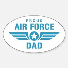 Proud Air Force Dad W Decal