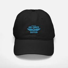 Proud Air Force Sister W Baseball Hat