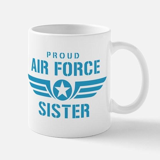 Proud Air Force Sister W Mug