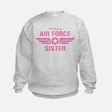 Proud Air Force Sister W [pink] Sweatshirt