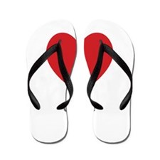 Josie Big Heart Flip Flops