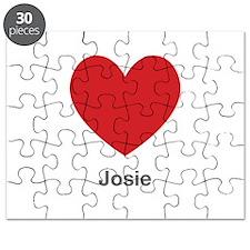 Josie Big Heart Puzzle