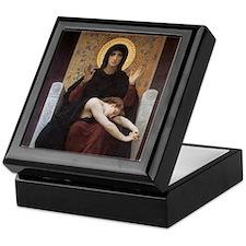 Funny Catholic conservative Keepsake Box