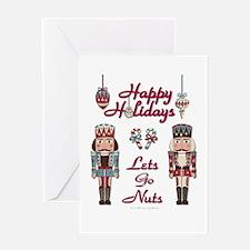 Happy Holidays Nutcracker Greeting Card