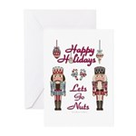 Happy Holidays Nutcracker Greeting Cards (Pk of 10
