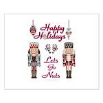 Happy Holidays Nutcracker Posters