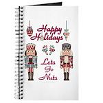 Happy Holidays Nutcracker Journal