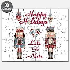 Happy Holidays Nutcracker Puzzle
