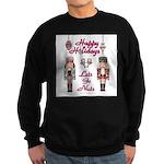 Happy Holidays Nutcracker Sweatshirt
