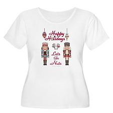 Happy Holidays Nutcracker Plus Size T-Shirt