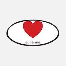 Julianne Big Heart Patches