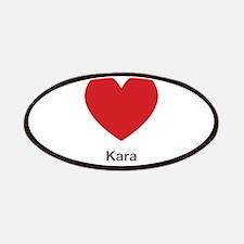 Kara Big Heart Patches