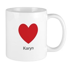 Karyn Big Heart Mug