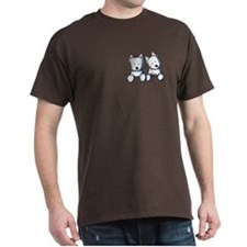 Pocket Westie Duo T-Shirt