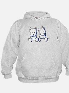 Pocket Westie Duo Hoodie