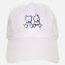 Pocket Westie Duo Baseball Baseball Cap