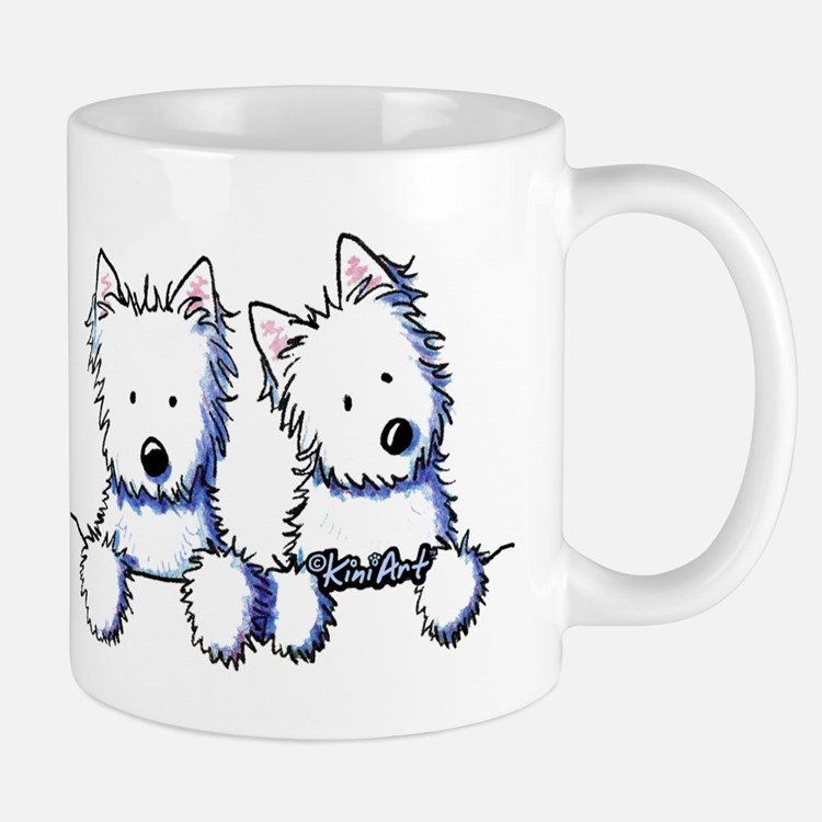 Pocket Westie Duo Mug