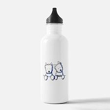 Pocket Westie Duo Water Bottle