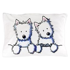 Pocket Westie Duo Pillow Case
