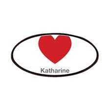 Katharine Big Heart Patches
