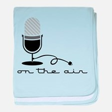 On The Air baby blanket