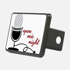 Open Mic Night Hitch Cover