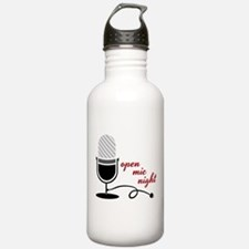 Open Mic Night Water Bottle