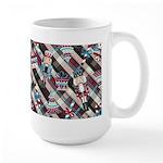 Happy Holidays Nutcracker Plaid Mug