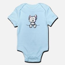 Pocket Westie Caricature Infant Bodysuit