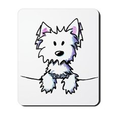 Pocket Westie Caricature Mousepad