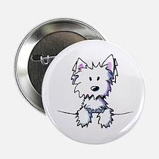 "Pocket Westie Caricature 2.25"" Button"