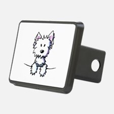Pocket Westie Caricature Hitch Cover