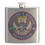 CBP Freemason Flask