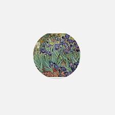 Irises by Van Gogh impressionist painting Mini But