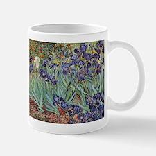 Irises by Van Gogh impressionist painting Mug