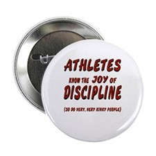 "The Joy of Discipline 2.25"" Button"