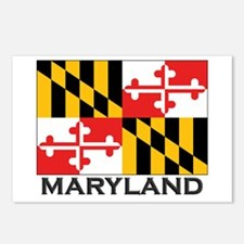 Maryland Flag Stuff Postcards (Package of 8)