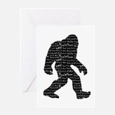 Bigfoot Sasquatch Yowie Yeti Yaren Skunk Ape Greet