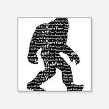 Bigfoot Sasquatch Yowie Yeti Yaren Skunk Ape Stick