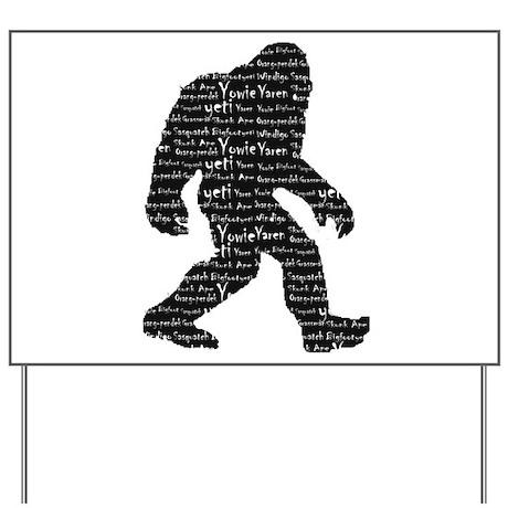 Bigfoot Sasquatch Yowie Yeti Yaren Skunk Ape Yard