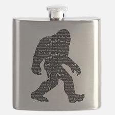 Bigfoot Sasquatch Yowie Yeti Yaren Skunk Ape Flask