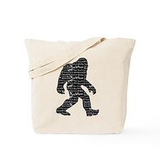 Bigfoot Sasquatch Yowie Yeti Yaren Skunk Ape Tote