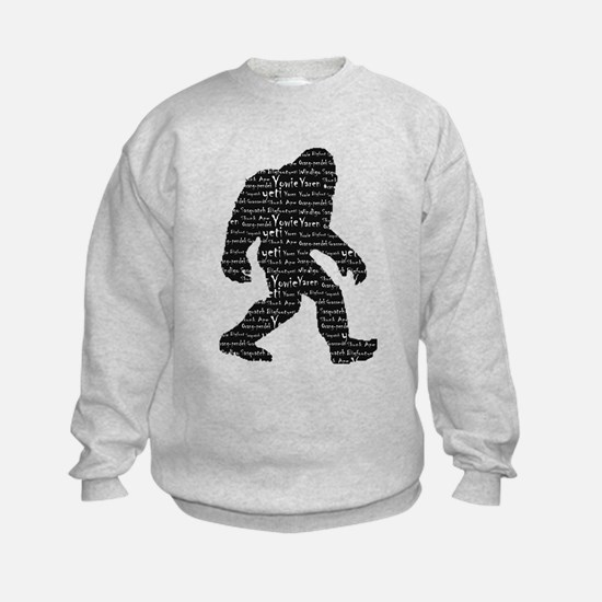 Bigfoot Sasquatch Yowie Yeti Yaren Skunk Ape Sweat