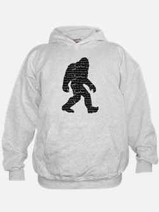 Bigfoot Sasquatch Yowie Yeti Yaren Skunk Ape Hoodi