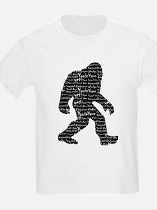 Bigfoot Sasquatch Yowie Yeti Yaren Skunk Ape T-Shi