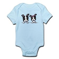 KiniArt Boston Terrier Onesie
