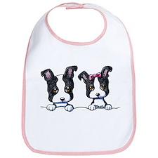 KiniArt Boston Terrier Bib
