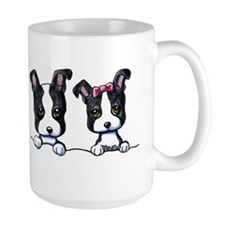 KiniArt Boston Terrier Ceramic Mugs