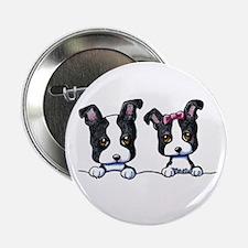 """KiniArt Boston Terrier 2.25"""" Button"""