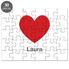 Laura Big Heart Puzzle